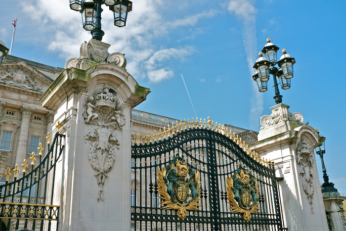 The Gates at Buckingham Palace