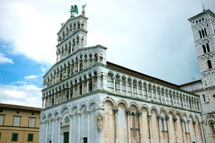 The Lucca duomo