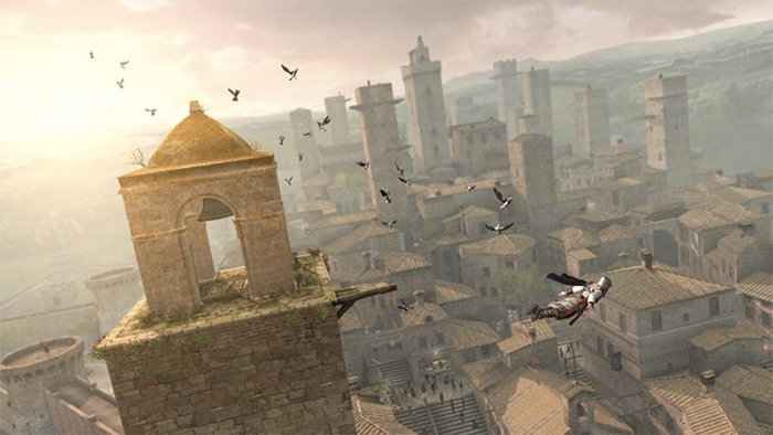 San Gimignano in Assassin's Creed
