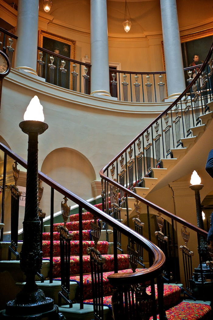 The Oval Staircase