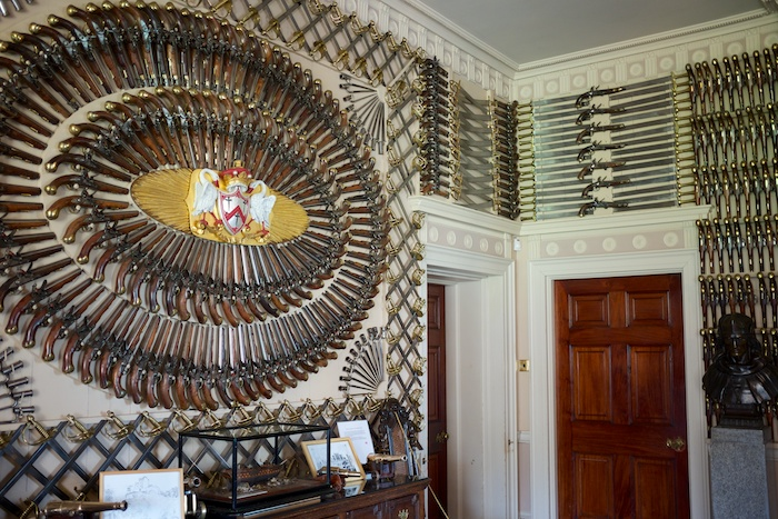 The weapon room