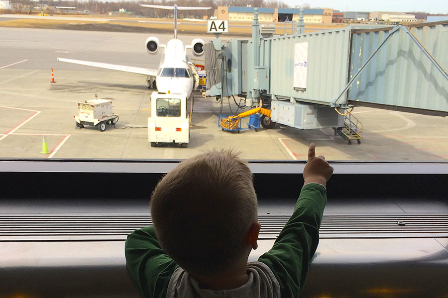 "Learing the word ""jetway"""