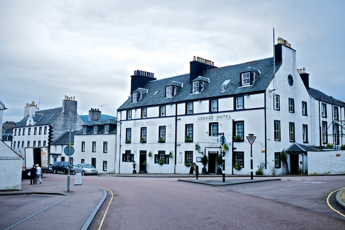 The center of Inverary