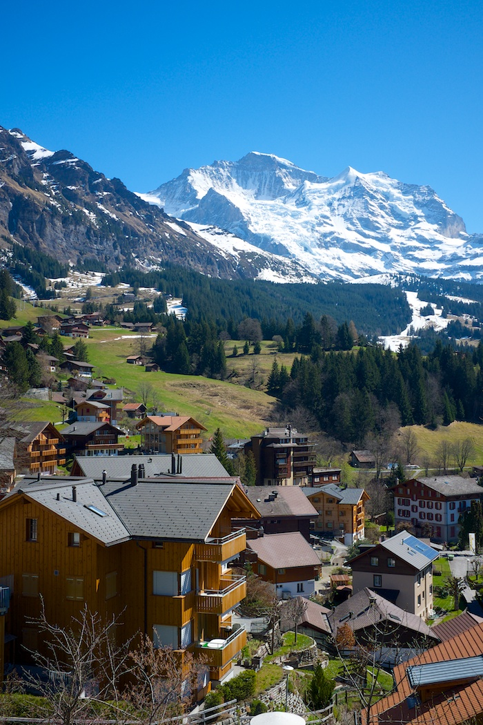The south side of Wengen